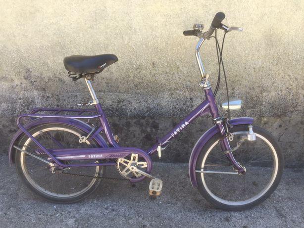 Bicicleta dobrável roda 20