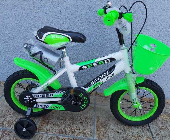 "Rower rowerek dla dziecka 16"" kolory akcesoria SPEED SPORT HURT-DETAL"