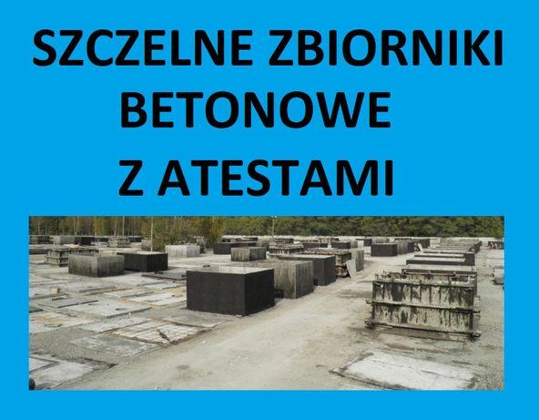 promocja szambo szamba betonowe betonowy zbiorniki 4,5,6,7,8,9,10,12m3