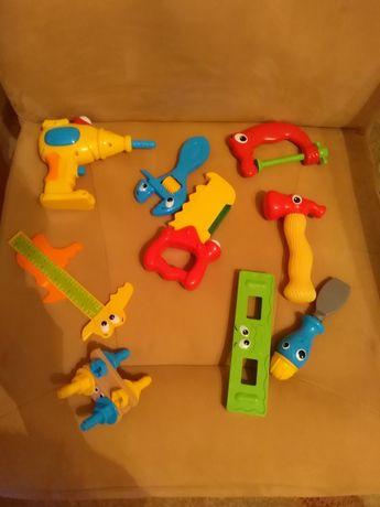 Narzędzia stolarskie dla chłopca