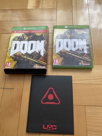 doom xbox one na płycie