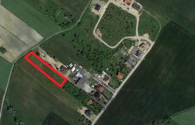 Sprzedam działkę Gniezno - ul. Zachodnia, Kłeckoska - 2720 m2