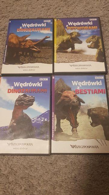 CD BBC Wędrówki z dinozaurami,bestiami,potworami