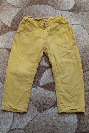 Коричневые штаны Zara kids на 3-4 года или рост 104