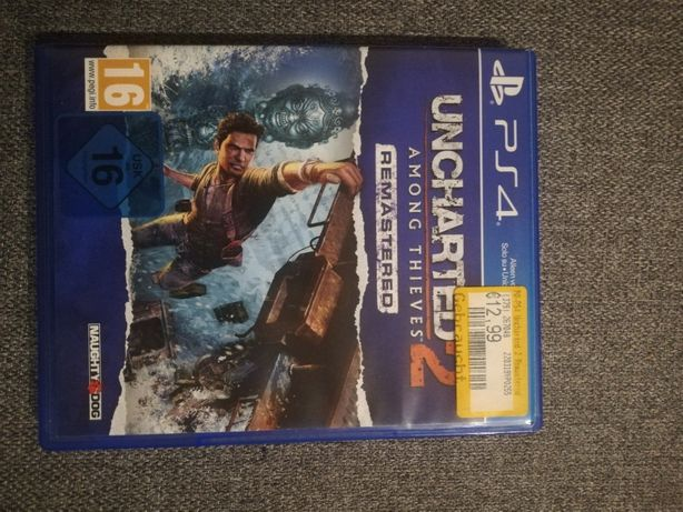 Uncharted 2: Among Thieves ps4 NIE UŻYWANA