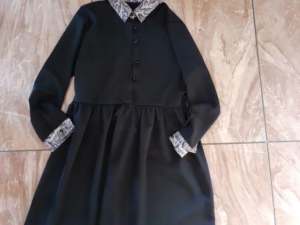 Sukienka piękna czarna