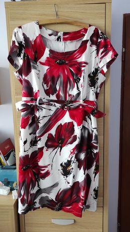 Sukienka letnia  z krótkim rękawem
