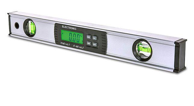 Профессиональный цифровой уровень с магнитом, угломер, инклинометр