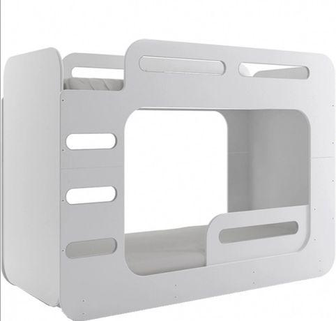 Łóżko piętrowe max 2 + materace