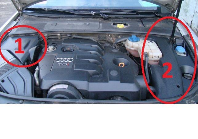 Kit 2 Forras extras de motor Audi A4 B6 e B7 8E - NOVO e ORIGINAL