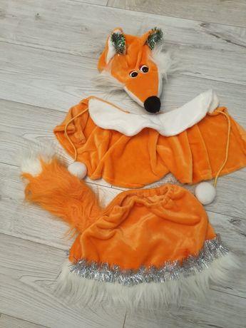 Новогодний костюм лисички (аренда)