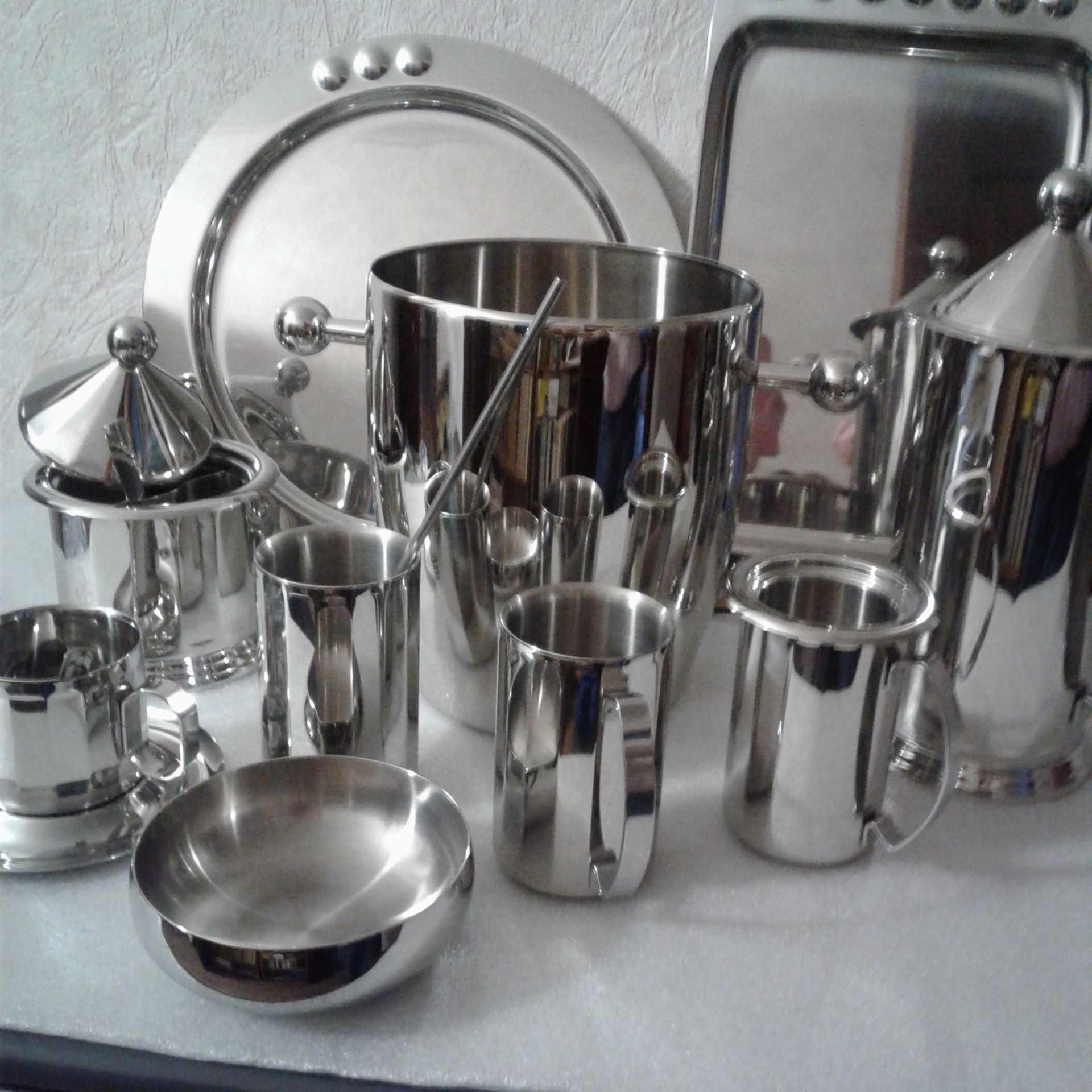 Посуда Цептер (ведро, , молочник, , чашка)