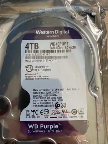 """WD Purple™ Surveillance Hard Drive 4TB 3.5"""" (WD40PURZ)"""