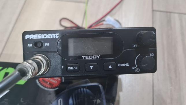 Radio CB President Teddy, używane, dowóz gratis, niska cena