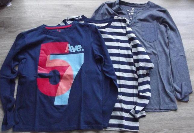 Bluzy 3-pak rozmiar 158- Reserved, Tchibo, 5-10,-15