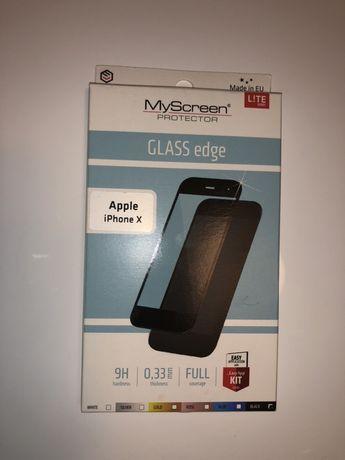 Szkło hartowana iPhone X