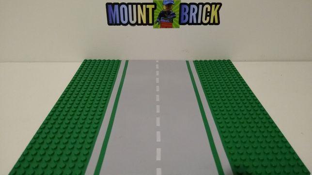 Lego płyta droga, szosa (posiadam 2 szt.) [Mount Brick]