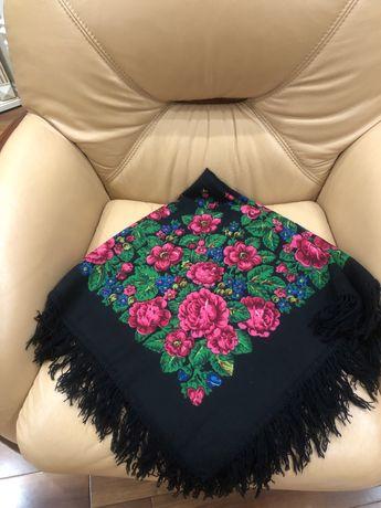 Винтажный платок, 95х95