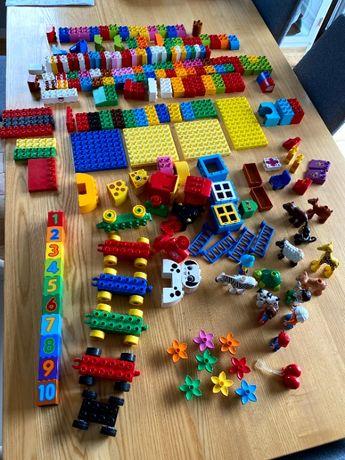 zestaw klocków lego duplo 200+ elementów