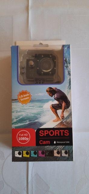 Kamera Sportowa Full HD 1080p Pro Wodoodporna + karta mikroSD32GB