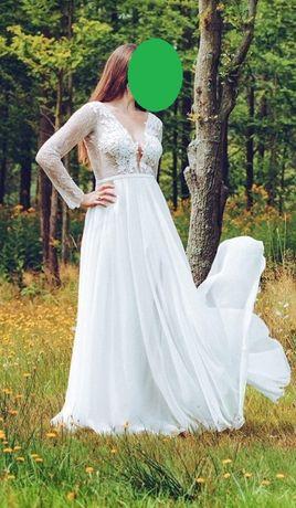 Suknia ślubna - A.Światły, Clementina