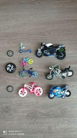 Детские мотоциклы велосипеды