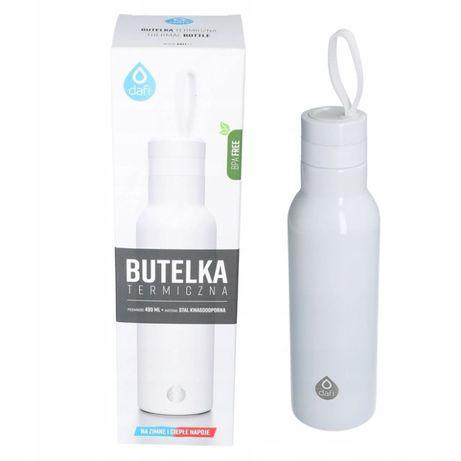 Butelka termiczna termos DAFI 490 ml biała nowa