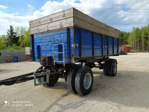 Przyczepa wywrotka rolnicza 16 ton masywna