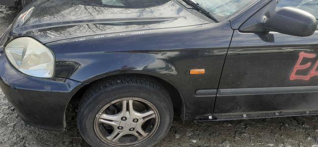 Błotnik Lewy Przedni Przód Honda Civic VI 95r-01r NH592P