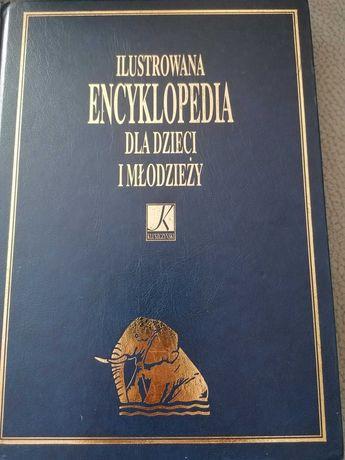 Ilustrowana encyklopedia dla dzieci i młodzieży 5 tomów