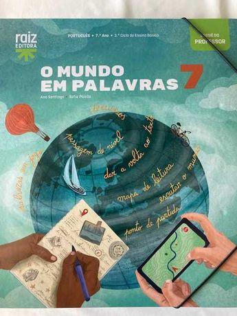O Mundo em Palavras 7 - Português 7º ano - Dossiê do professor