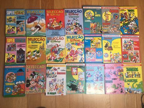 Revistas Disney antigas anos 80