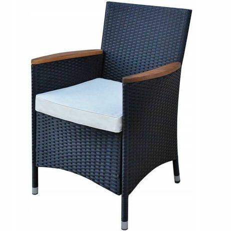 Fotel z technorattanu  do domu i ogrodu  108x60x59