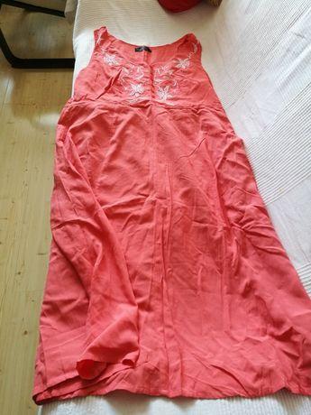 Nowa łososiowa sukienka, rozm 50