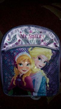 Рюкзак детский Frozen, Disney George Эльза, Анна, размер 32х26 см