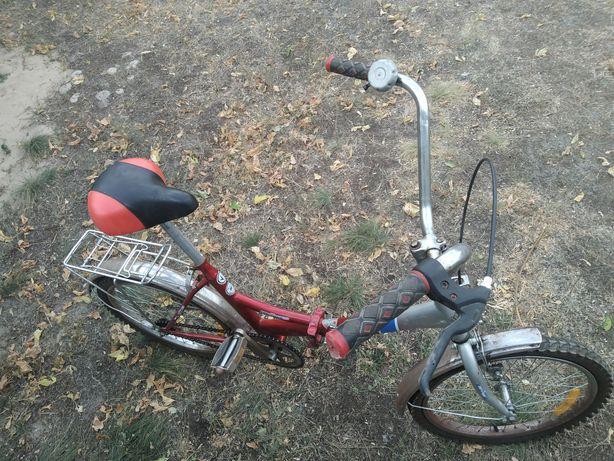 Велосипед городской складной