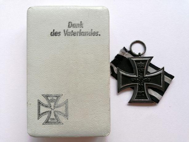Cruz de Ferro de 2ª Classe com Caixa - Primeira Guerra Mundial