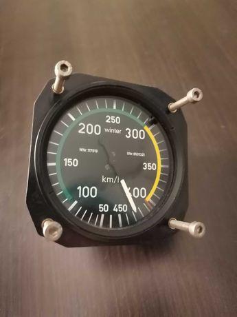 Prędkościomierz Lotniczy 6FMS531 od 50-450km/h WINTER - uszkodzony