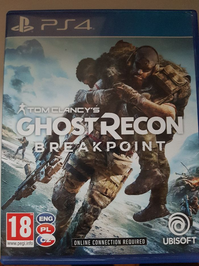 Gra Tom Clancy's Ghost Recon BREAKPOINT PS4 Legnica - image 1