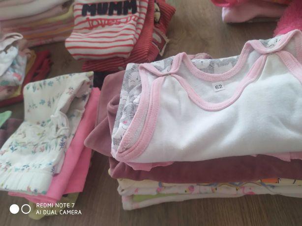Zestaw ubranek niemowlęcych dla dziewczynki 62-68