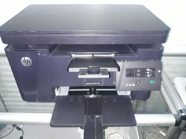 МФУ HP LaserJet M125a в хорошем состоянии