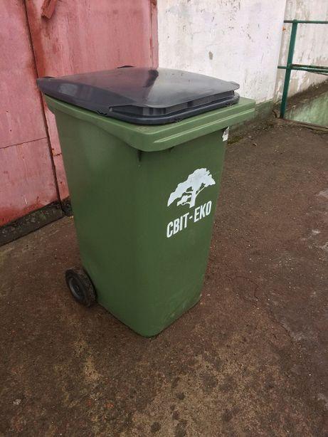 Продам бак для мусора новый 240 л. Производство Испания