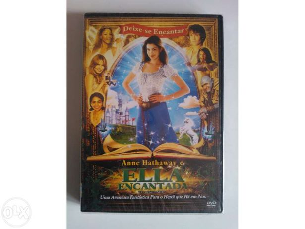 "DVD ""Ella Encantada"", com Anne Hathaway / Hugh Dancy, etc."