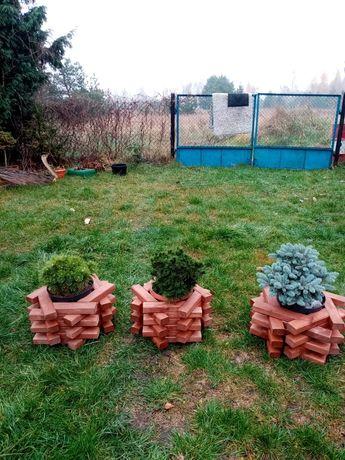 Donice ogrodowe sześciokątne