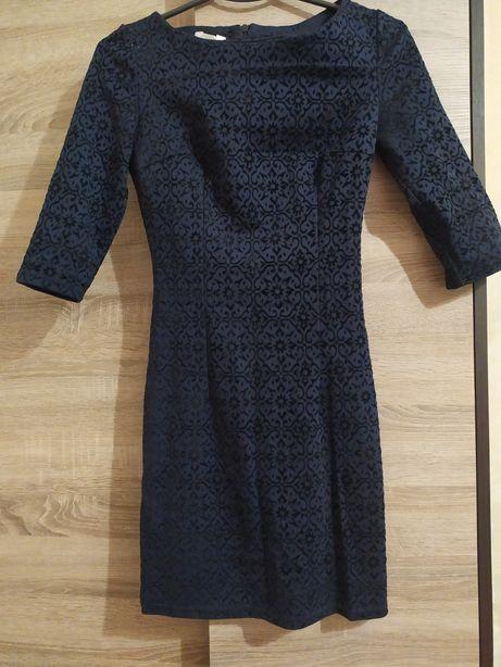 Сукня темно синього кольору