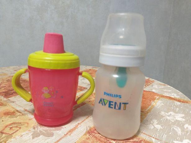 Детская бутылочка Avent антиколик