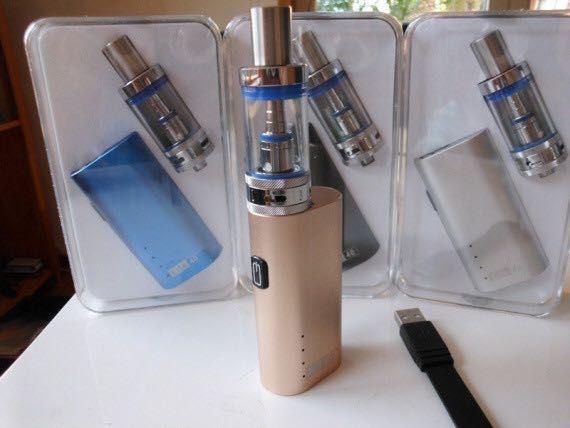 Электронная Сигарета Jomo Lite 40w Kit (Вейп tech ijust 2, vape pen) Вишневое - изображение 1