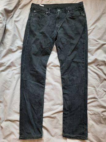 Spodnie jeansy rurki levis