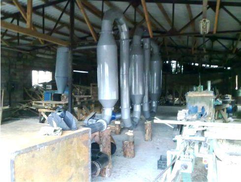 Линия производства топливных брикетов Pini & Kay, пеллет
