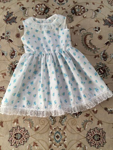 Платье батистовое 5-6 лет